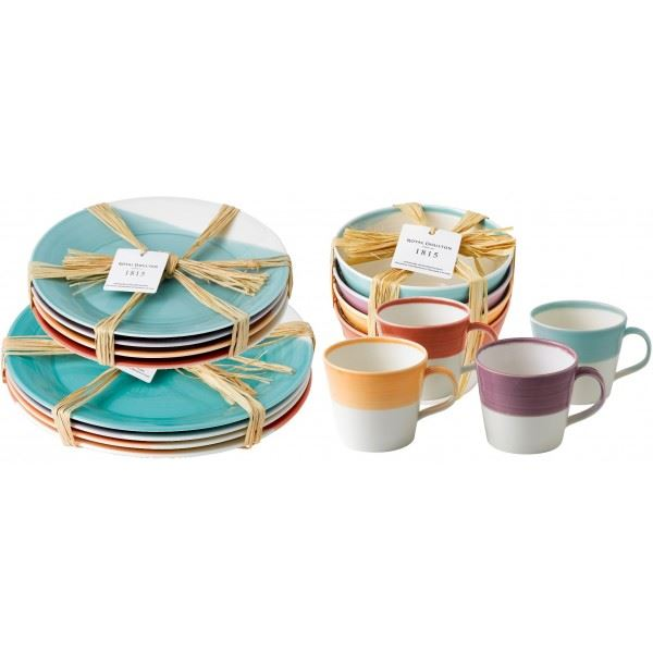 NIEUW: Royal Doulton 1815 Bright Colors
