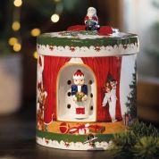 Villeroy & Boch Christmas Christmas Toys Geschenkpak rond met speeldoos