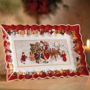 Villeroy & Boch Christmas Toy's Fantasy Serveerschaal langwerpig 35x23 cm