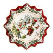 Villeroy & Boch Christmas Toy's Fantasy Gebakschaal 39 cm diep, slederit