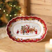 Villeroy & Boch Christmas Toy's Fantasy Serveerschaal ovaal 29 cm
