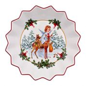 Villeroy & Boch Christmas Toy's Fantasy Schaal groot 24 cm , kerstkind