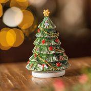Villeroy & Boch Christmas Nostalgic Melody Kerstboom draaiend - met speeldoos