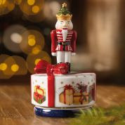 Villeroy & Boch Christmas Nostalgic Melody Notenkraker draaiend met speeldoos