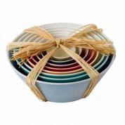 Royal Doulton 1815 Brights Nesting bowls - Set van 8