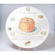 Gien Desserts Gourmands Taartschaal - Gebakschaal 31 cm