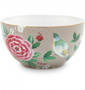 Pip Studio Blushing Birds Bowl 15 cm - khaki
