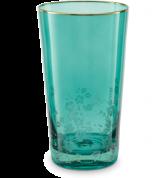 Pip Studio Blushing Birds Glas Longdrinkglas 0.33 ltr - groen