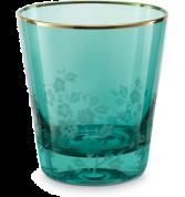 Pip Studio Blushing Birds Glas Waterglas 0.26 ltr - groen