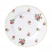 Royal Albert Cheeky Pink Vintage Ontbijtbord 20 cm ( Uitlopend )