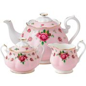Royal Albert New Country Roses Pink Vintage 3-delige theeset