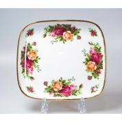 Royal Albert Old Country Roses Schaaltje vierkant 16 x 16 cm plat