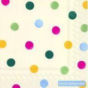 Emma Bridgewater Servetten Servetten Polka Dots - 33 x 33 cm ( Set van 2 )