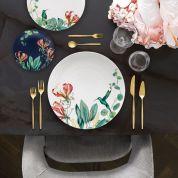 Villeroy & Boch Avarua Ontbijt- Dessertbord 22 cm - blauw