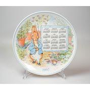 Wedgwood Peter Rabbit Original Kalenderbord 20 cm 1997