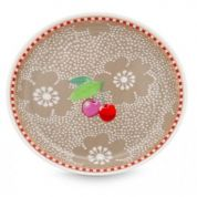 Pip Floral Theetip Khaki - Dotted Flower