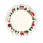Wedgwood Christmas Village Dinerbord 27 cm (made in England)