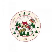 Wedgwood Christmas Village Ontbijtbord 20 cm (made in England)