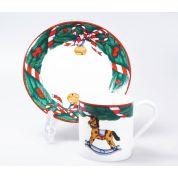 Villeroy & Boch Magic Christmas Koffiekop en schotel