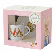 Wedgwood Peter Rabbit 2-delig kinderservies Roze