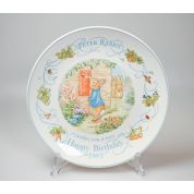 Wedgwood Peter Rabbit Original Bord 20 cm Happy Birthday 1997