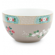 Pip Studio Blushing Birds Bowl 18 cm - khaki