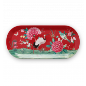 Pip Studio Blushing Birds Cakeschaal - rood