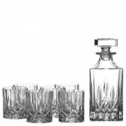 Royal Doulton Whisky set Seasons Whiskyglas 0.60 ltr- Set van 6 met karaf ( In geschenkverpakking )