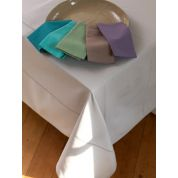 Tint Tint Tafelkleed Uni Ajour 170 x 350 cm - Mouse