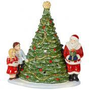 Villeroy & Boch Christmas Christmas Toys Santa op boom 20 x 17 x 23 cm - sfeerlicht