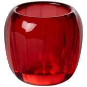 Villeroy & Boch Coloured DeLight Theelichthouder 70 mm - Deep Red