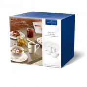 Villeroy & Boch For Me 2-persoons Ontbijtservies 6-delig