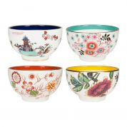 Wedgwood Wonderlust Thee bowl - Set van 4