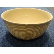 Johnson Brothers Yellow Basket Weave Schaal diep 28 cm
