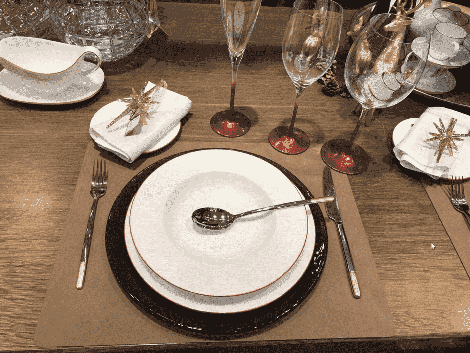 Servies, glas en bestek trends 2019