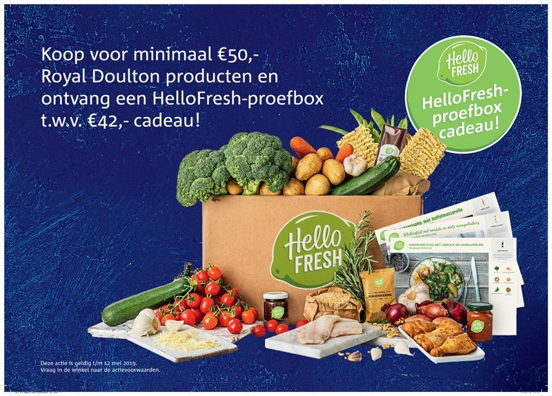 HelloFresh-proefbox cadeau