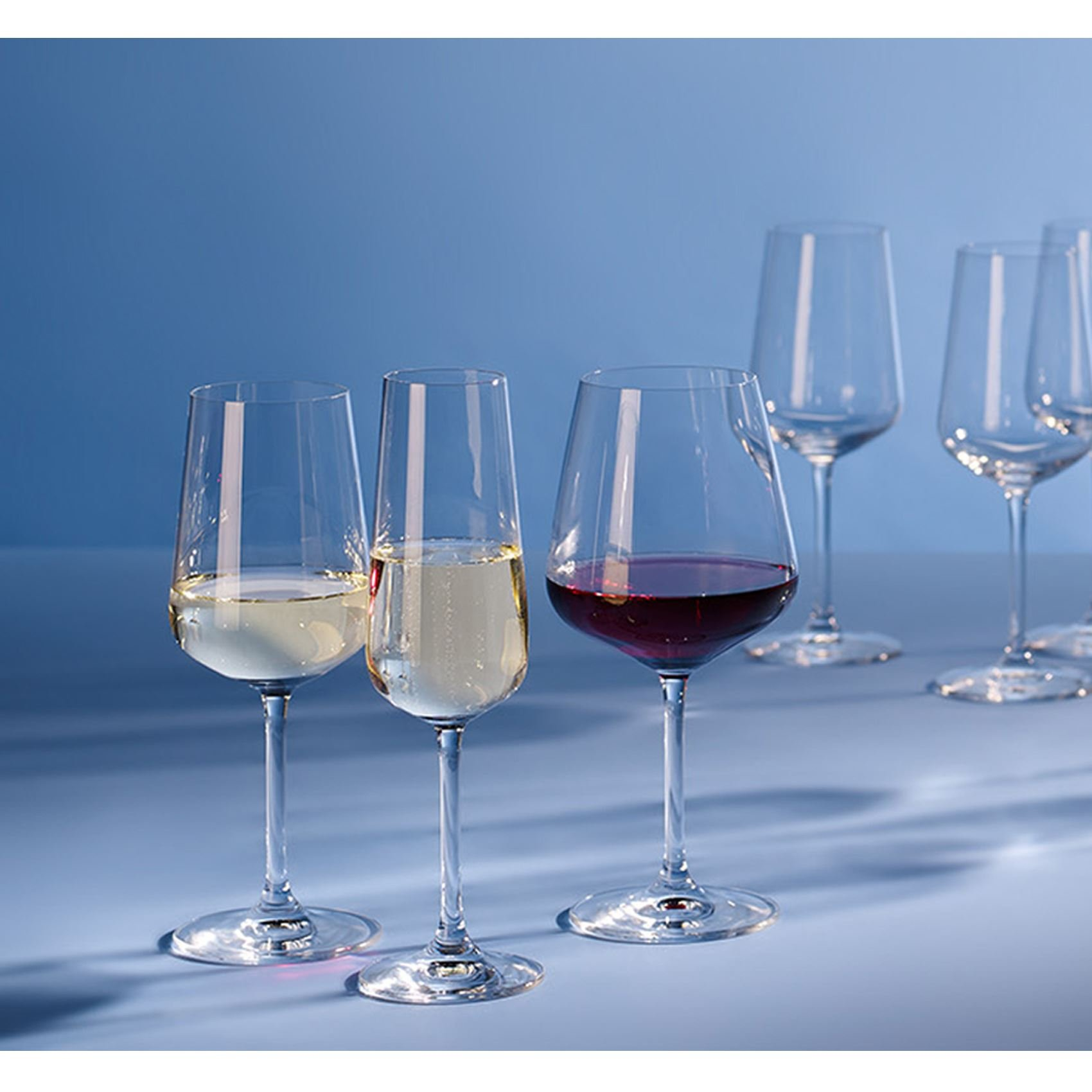 Actie Villeroy En Boch.Actie Villeroy Boch Ovid Wijn Water En Champagneglazen